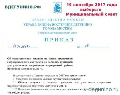 Госзакупка: Спортивные призы всего на 500 тысяч рублей на 2,5 тысячи человек - Выборы_Подарки_2017.jpg