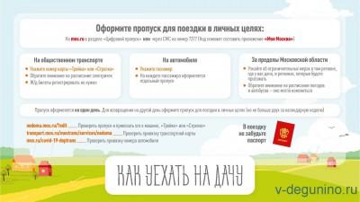Как оформить цифровой пропуск для поездки на дачу - Дача_Пропуск.jpg