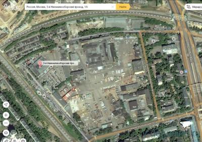 ГЗК одобрила проект планировки 3-й Нижнелихоборский проезд, вл. 1 - Карта_Яндекс.jpg