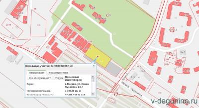 В Западном Дегунино появится ФОК с бассейном и подземной парковкой на ул. Ивана Сусанина, вл. 1 - Карта_ФОК.jpg
