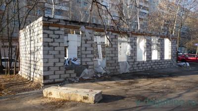 1 ноября начался демонтаж торгового объекта по адресу лица Дубнинская, дом 16 корпус 1, строение 4 - 3.jpg