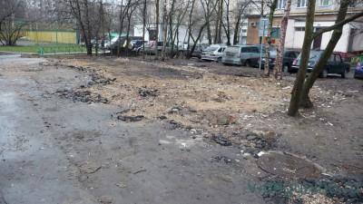 1 ноября начался демонтаж торгового объекта по адресу лица Дубнинская, дом 16 корпус 1, строение 4 - 4.jpg
