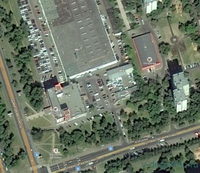 Госзакупка: консервации объекта гаражного назначения Дмитровское шоссе, вл. 98 - Карта_Спутник.jpg