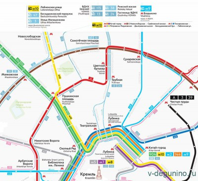 Встречаем новый маршрут М10 Китай-город - Лобненская улица - Маршрут_М10_карта.jpg