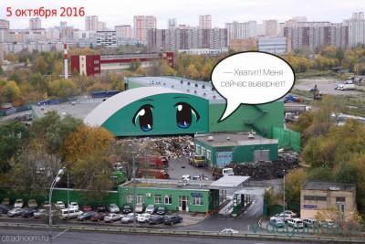 Алтуфьевское шоссе вл. 51 - мусорная проблема СВАО и САО - Хватит!.jpg