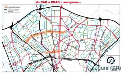 Кольцо автомагистралей вокруг Восточного Дегунино сжимается... - Планировка_Автомагистрали.jpg
